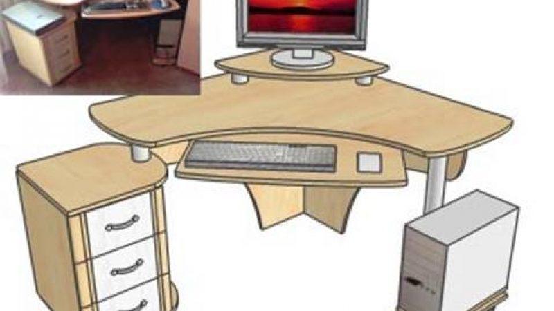 Компьютерный стол за два часа