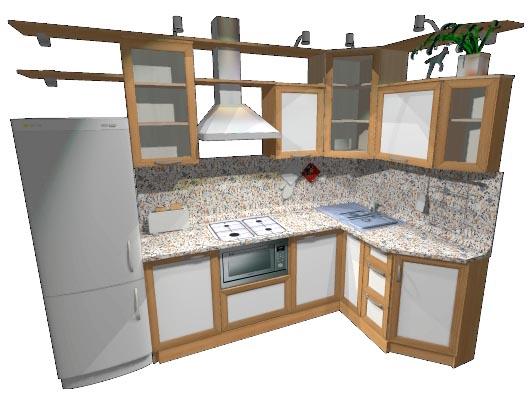 Кухня холостяка