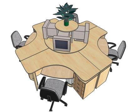 Столы для ПК в офис