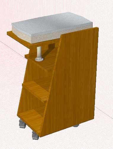 Столик для сканера