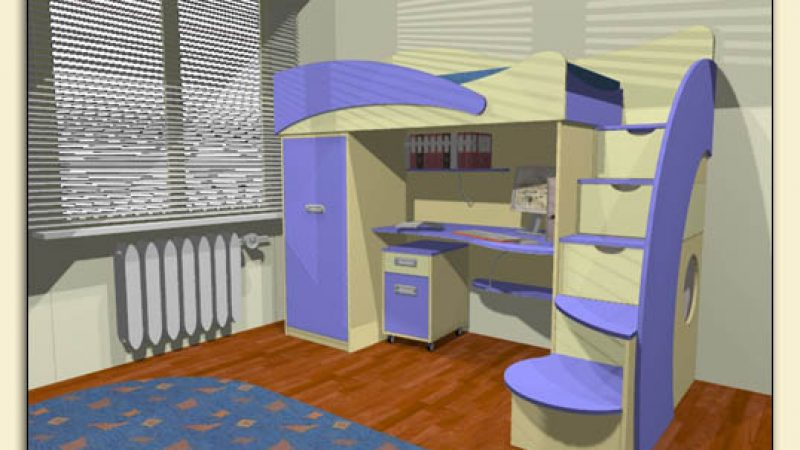 Компактный моноблок для детской комнаты