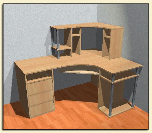 Сделай сам своими руками компьютерный стол угловой