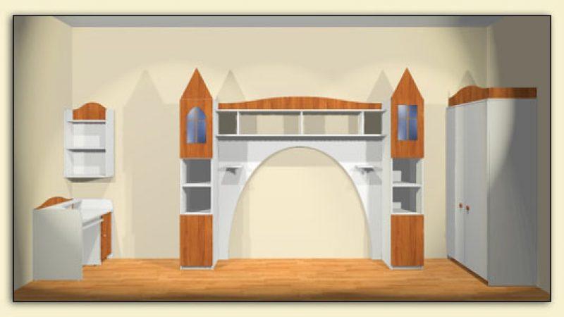Мебель для маленькой принцессы 2