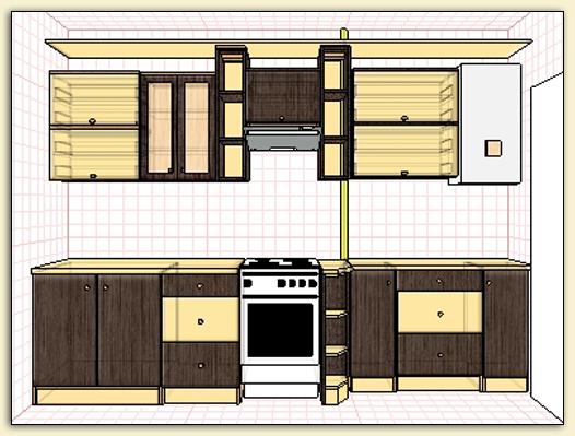 Проекты Pro100 » Архив сайта » Кухня на