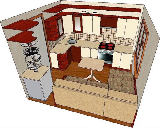 Кухонные гарнитуры угловые своими руками