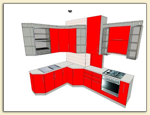 Pro100 проект кухни и другие образцы
