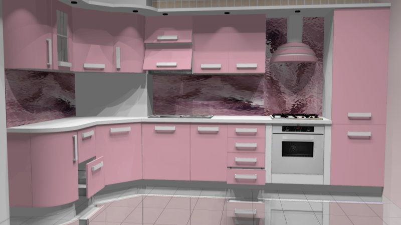 Кухня «Малина»