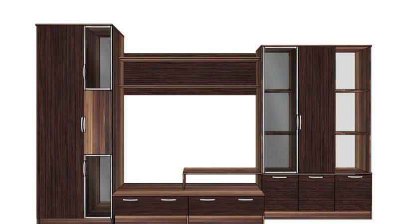 Мебельная стенка для гостиной «Плаза»