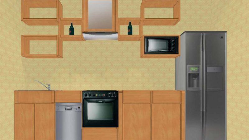 Кухонный гарнитур (ольха)