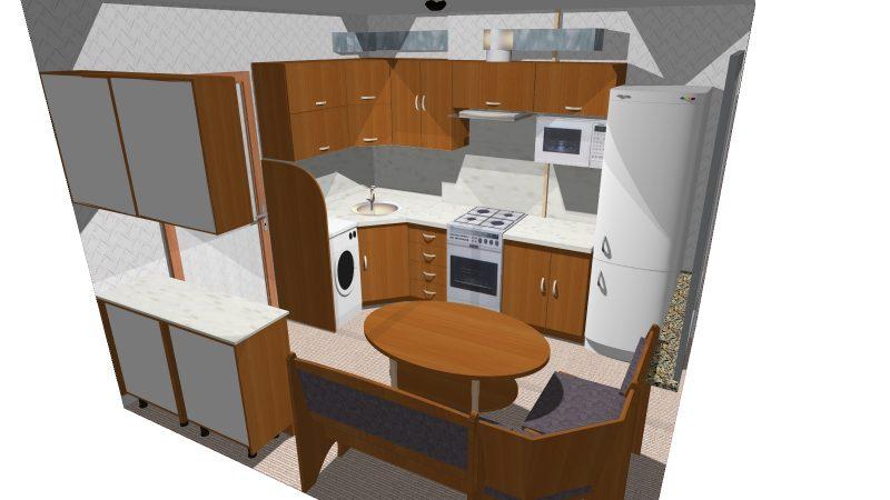 Кухня (3000*3300см)