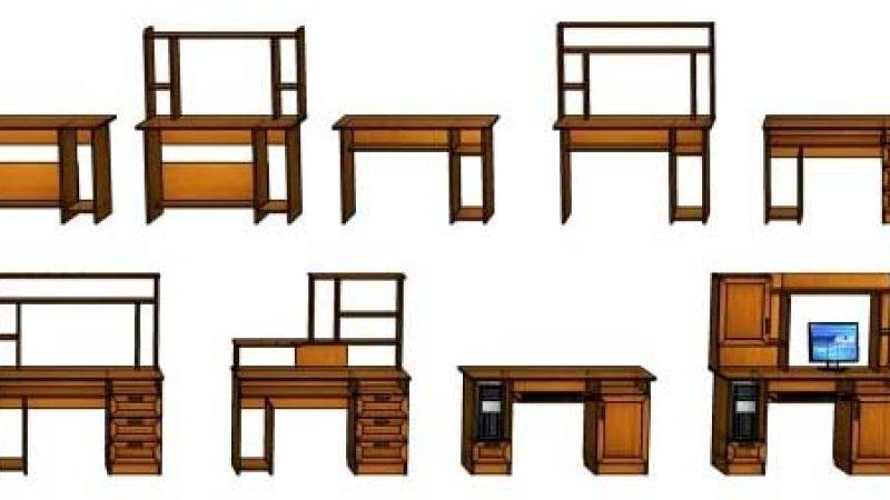 Компьютерные столы «Альфа»