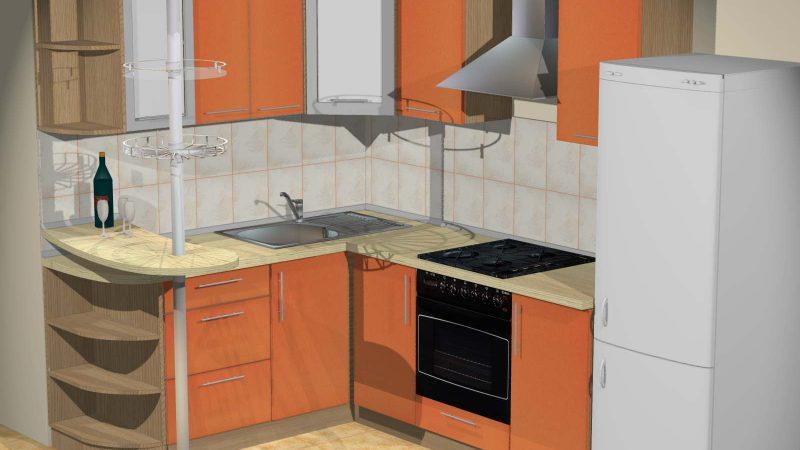 Кухня «Оранжевое настроение»