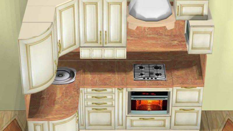 Кухня (в хрущевке)
