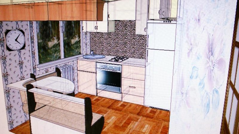 Кухня (в хрущевку)