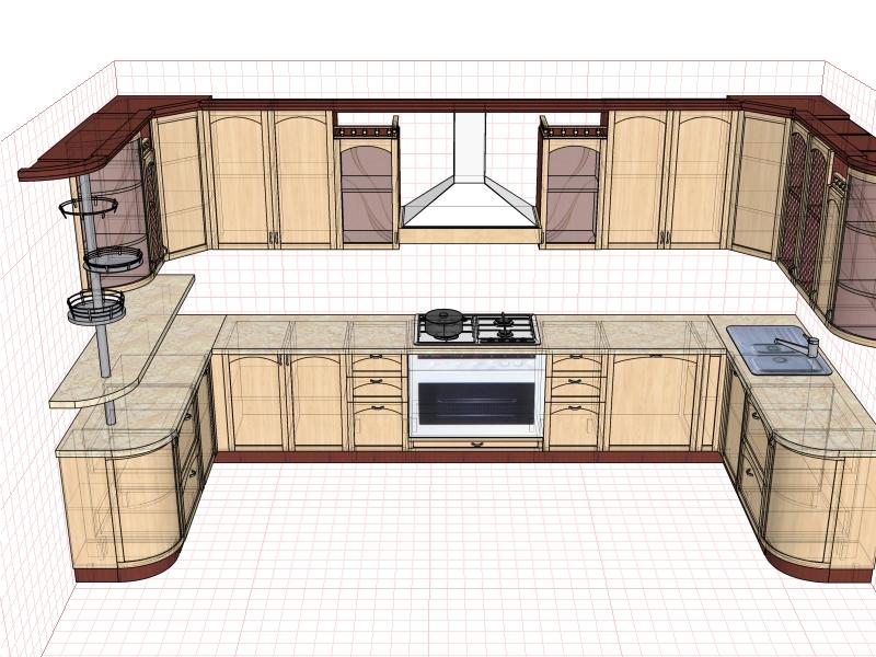 Кухня, массив