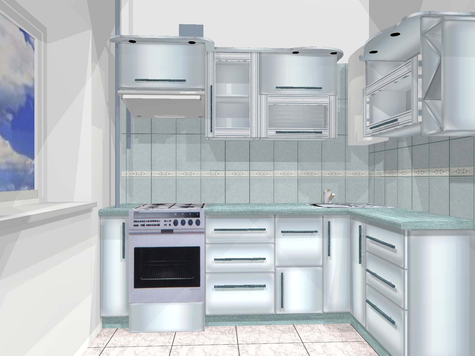 Кухня для малогабаритной квартиры