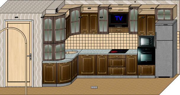Кухня (макет)