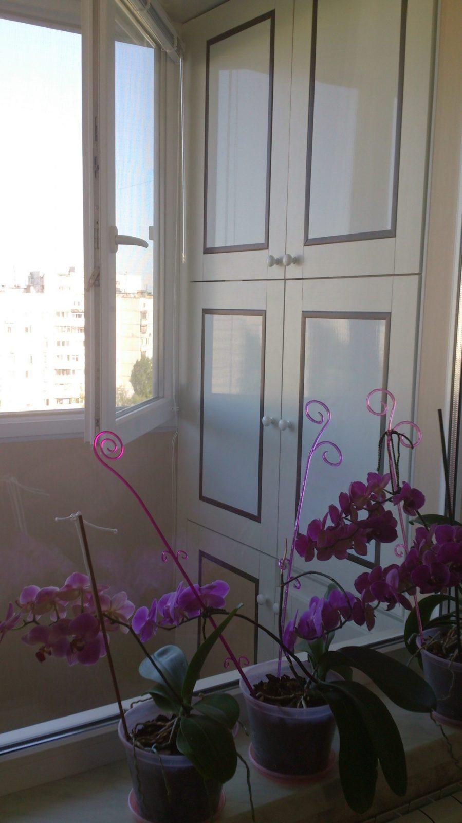 Хозяйственный шкаф на балконе