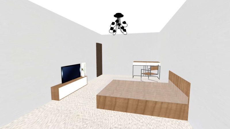 Тумба ТВ и компьютерный стол